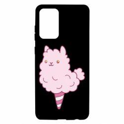 Чехол для Samsung A72 5G Llama Ice Cream