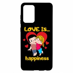 Чохол для Samsung A72 5G love is...happyness