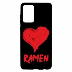 Чохол для Samsung A72 5G Love ramen