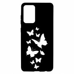 Чохол для Samsung A72 5G Many butterflies