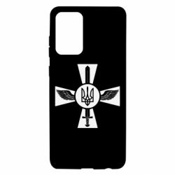 Чехол для Samsung A72 5G Меч, крила та герб
