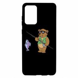 Чохол для Samsung A72 5G Ведмідь ловить рибу