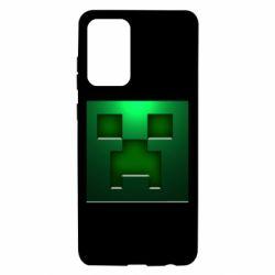 Чехол для Samsung A72 5G Minecraft Face