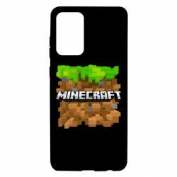 Чохол для Samsung A72 5G Minecraft Main Logo