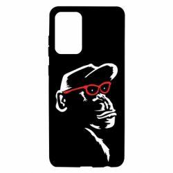 Чохол для Samsung A72 5G Monkey in red glasses
