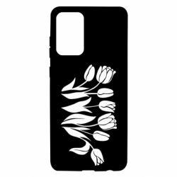 Чохол для Samsung A72 5G Monochrome tulips