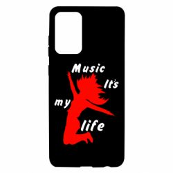 Чохол для Samsung A72 5G Music it's my life