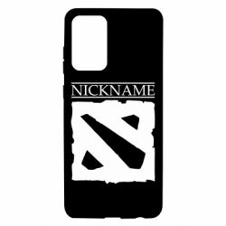 Чехол для Samsung A72 5G Nickname Dota
