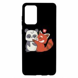 Чохол для Samsung A72 5G Panda and fire panda
