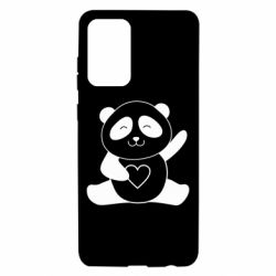 Чохол для Samsung A72 5G Panda and heart