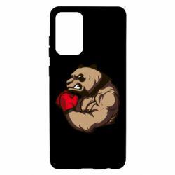 Чехол для Samsung A72 5G Panda Boxing