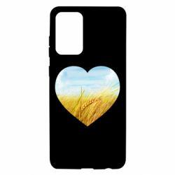 Чохол для Samsung A72 5G Пейзаж України в серце