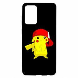 Чехол для Samsung A72 5G Pikachu in a cap