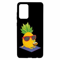 Чохол для Samsung A72 5G Pineapple with coconut