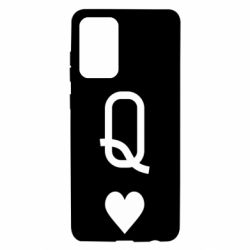 Чехол для Samsung A72 5G Playing Cards Queen