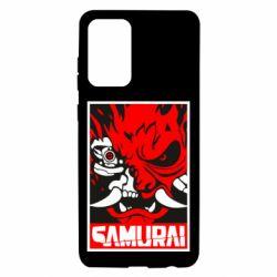Чохол для Samsung A72 5G Poster samurai Cyberpunk