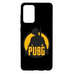 Чехол для Samsung A72 5G PUBG logo and game hero