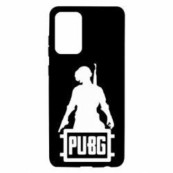 Чехол для Samsung A72 5G PUBG logo and hero
