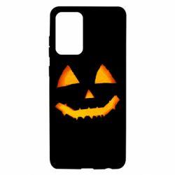 Чохол для Samsung A72 5G Pumpkin face features