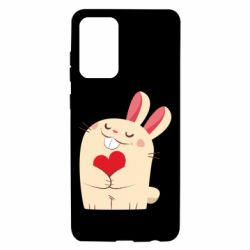 Чехол для Samsung A72 5G Rabbit with heart