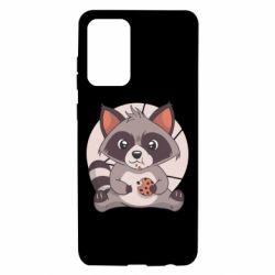Чохол для Samsung A72 5G Raccoon with cookies