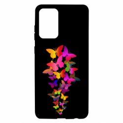 Чохол для Samsung A72 5G Rainbow butterflies