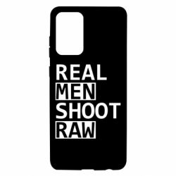 Чохол для Samsung A72 5G Real Men Shoot RAW
