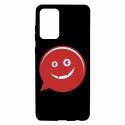 Чехол для Samsung A72 5G Red smile
