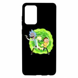 Чохол для Samsung A72 5G Rick and Morty art