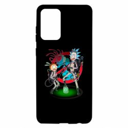 Чохол для Samsung A72 5G Rick and Morty as Ghostbusters