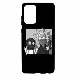 Чехол для Samsung A72 5G Rick and Morty Bandits