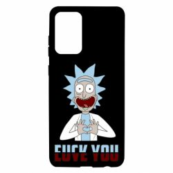Чохол для Samsung A72 5G Rick and Morty fack and love you