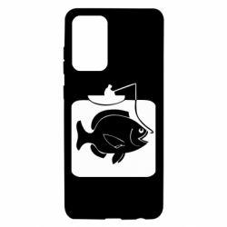 Чохол для Samsung A72 5G Риба на гачку
