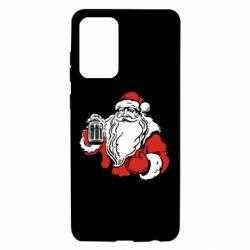Чехол для Samsung A72 5G Santa Claus with beer