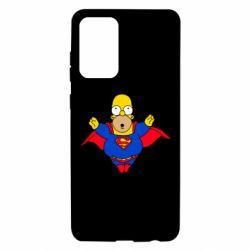 Чехол для Samsung A72 5G Simpson superman