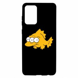 Чехол для Samsung A72 5G Simpsons three eyed fish