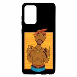 Чохол для Samsung A72 5G Singer Tupac Shakur