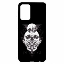 Чохол для Samsung A72 5G Skull with insect