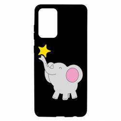 Чохол для Samsung A72 5G Слон із зірочкою