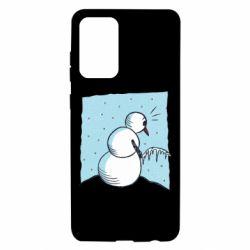 Чохол для Samsung A72 5G Snowman. It's Cold!