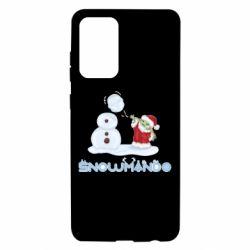 Чехол для Samsung A72 5G Snowmando