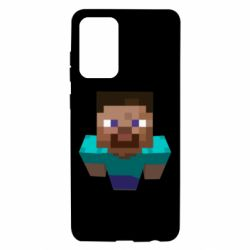 Чехол для Samsung A72 5G Steve from Minecraft