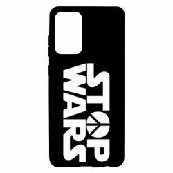 Чехол для Samsung A72 5G Stop Wars peace