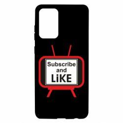 Чохол для Samsung A72 5G Subscribe and like youtube