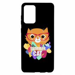 Чохол для Samsung A72 5G Summer cat