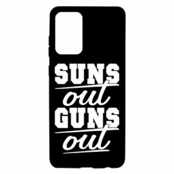 Чехол для Samsung A72 5G Suns out guns out