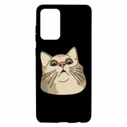 Чехол для Samsung A72 5G Surprised cat
