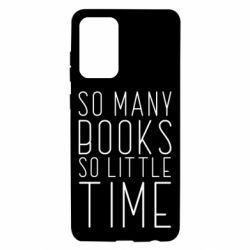 Чохол для Samsung A72 5G Так багато книг так мало часу