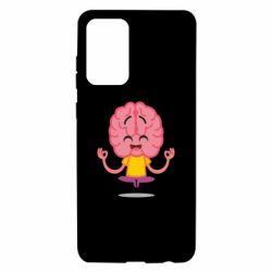 Чохол для Samsung A72 5G The brain meditates