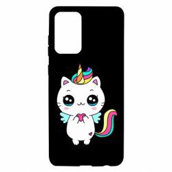 Чохол для Samsung A72 5G The cat is unicorn
